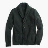 J.Crew Lambswool three-pocket cardigan sweater