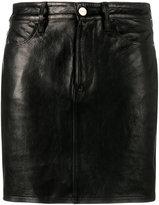 Frame mini skirt - women - Lamb Skin - 27