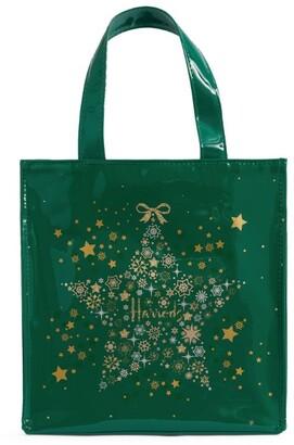 Harrods Small Glitter Star Tote Bag