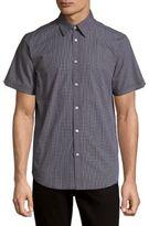 Ben Sherman Check-Print Cotton Shirt