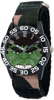 Thumbnail for your product : EWatchFactory Marvel's Avengers: Hulk Boys' Black Plastic Time Teacher Watch