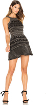 Karina Grimaldi Gabe Beaded Mini Dress