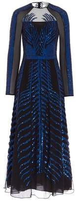 Temperley London Dusk Sleeved Dress