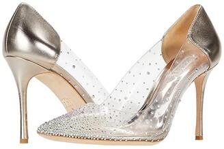 Badgley Mischka Gisela (Champagne) Women's Shoes