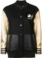 Fendi Bag Bugs varsity jacket