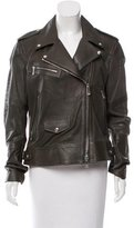 Belstaff Perforated Leather Jacket