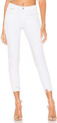 AGOLDE Sophie High Rise Skinny Crop. - size 24 (also