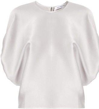 CHRISTOPHER ESBER ruched oversized top
