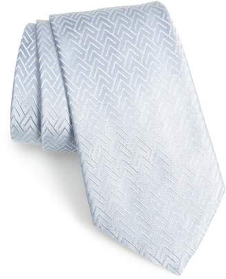 Emporio Armani Geometric Silk Blend Tie