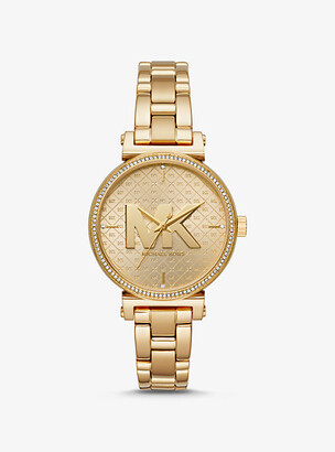 Michael Kors Sofie Gold-Tone Watch