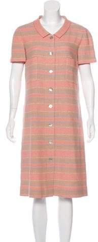 Chanel Striped Tweed Dress