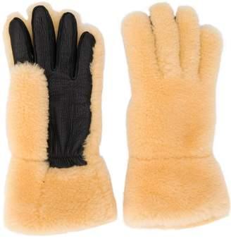 Marni shearling gloves