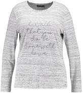 Jette Joop DO WHAT YOU LOVE Long sleeved top offwhite/black