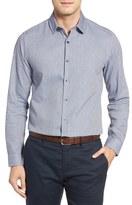 Robert Barakett Gregory Slim Fit Dobby Sport Shirt