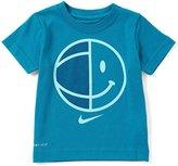 Nike Little Boys 2T-7 Smiley Basketball Dri-FIT Tee