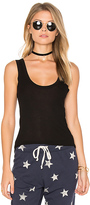 Enza Costa Rib Tank in Black. - size L (also in XS)