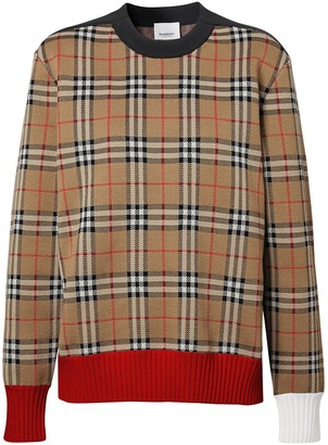 Burberry Vintage check jumper