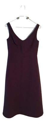 Carven Purple Wool Dresses
