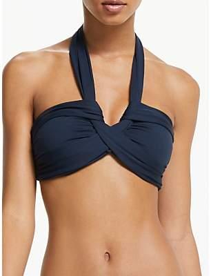 Seafolly Bandeau Halterneck Bikini Top