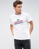 Lacoste Logo T-shirt In White