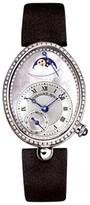 Breguet Diamond Reine de Naples 8908bb/52/864.d00d 18K White Gold and Diamonds 36mm Watch