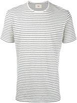 Folk striped melange T-shirt