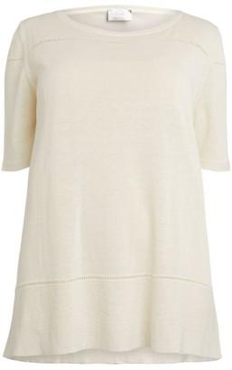 Marina Rinaldi Linen-Rich Affresco Sweater