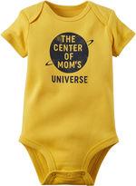 Carter's Short-Sleeve Mom's Universe Bodysuit - Baby Boys newborn-24m