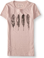 Aeropostale Four Feathers Graphic T