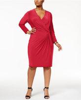 Anne Klein Plus Size Wrap Dress