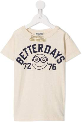 Denim Dungaree Better Days knitted T-shirt