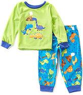 Komar Kids Little Boys 2T-4T Dinosaur Pajama Top & Printed Pants Set
