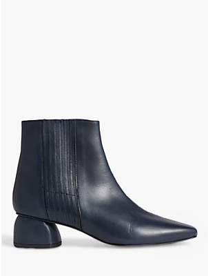 Jigsaw Asher Leather Ankle Boots