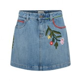Gucci GUCCIGirls Blue Denim Skirt