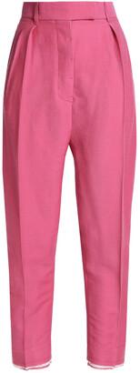 Haider Ackermann Pleated Wool-twill Tapered Pants