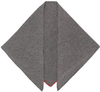 Bea Yuk Mui triangle scarf