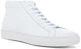 Common Projects Original Leather Achilles Mid in White.