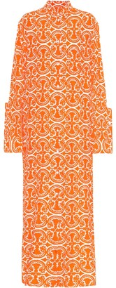 Jil Sander Printed fil coupe shirt dress