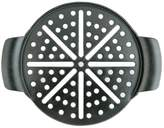 Mr. Bar-B-Q 15-in. Seasoned Cast-Iron Pizza Pan