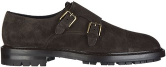 Dolce & Gabbana Double Buckle Monk Shoes