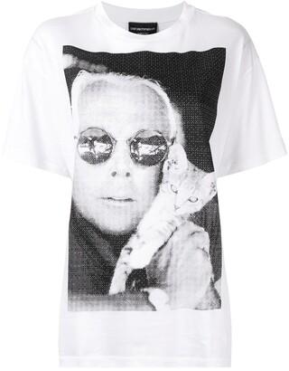 Emporio Armani Giorgio Cat T-shirt