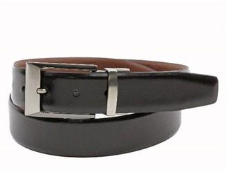 Bosca Reversible 35mm Sheen/Matte Leather Belt