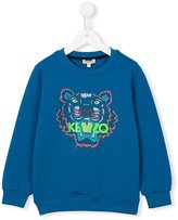 Kenzo 'Tiger' sweatshirt - kids - Cotton/Spandex/Elastane - 10 yrs