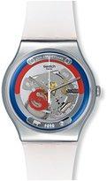 Swatch Unisex SUOZ195 This Is My World Analog Display Quartz White Watch