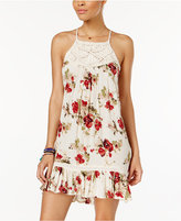 Volcom Juniors' Emrbroidered A-Line Dress