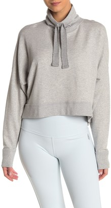 Free People Lara Drawstring Solid Pullover