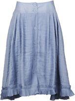 Thierry Colson Roman Knee Length Skirt