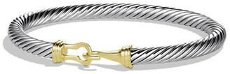 David Yurman Cable Classic Buckle Bracelet with 14K Yellow Gold/5mm