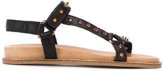 Carvela studded flat sandals