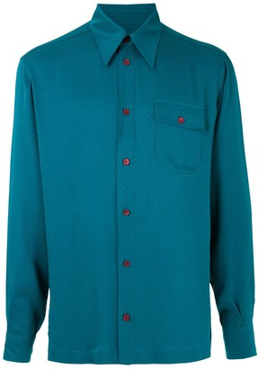 Dolce & Gabbana Silk Jacquard Shirt